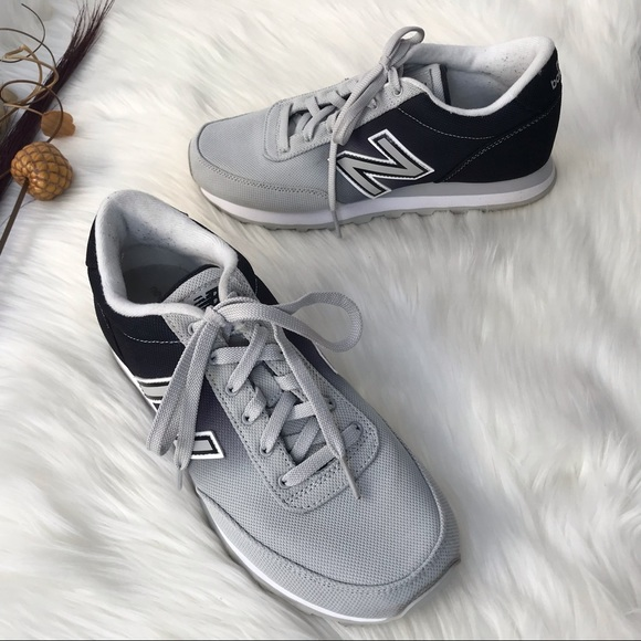 Sneakers Ombre Gray Black Size